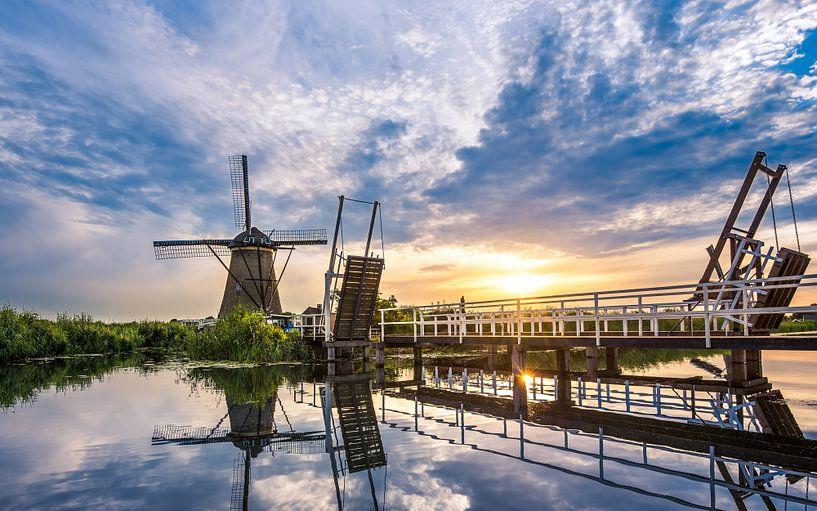 Werelderfgoed Kinderdijk van Martijn Kort