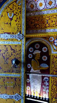 Tempel deur von Gonnie van Hove