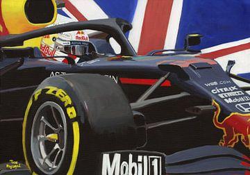 2020 70 years F1 Grand Prix winner #33 Max Verstappen by Toon Nagtegaal van Adam's World