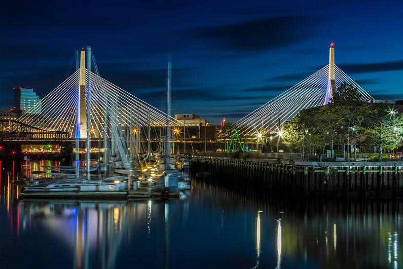 BOSTON Bunker Hill Bridge van Melanie Viola