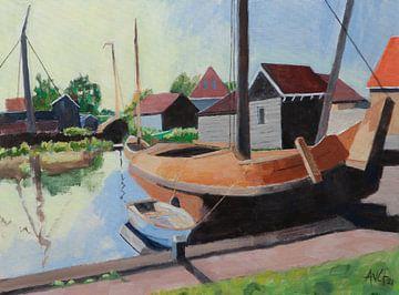 Le Zool Workum sur Antonie van Gelder Beeldend kunstenaar