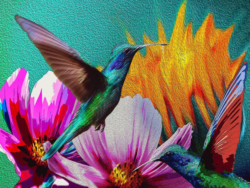 Hummingbirds van Ellen Novara-da Lima