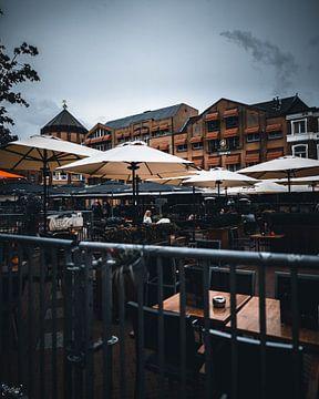 terrassen in de stad van Sabine Brederode Photography