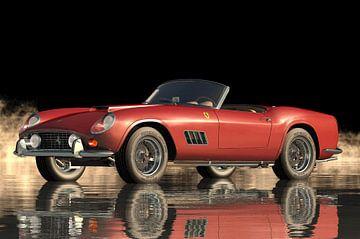 Ferrari 250 GT Spyder California de 1960 sur Jan Keteleer