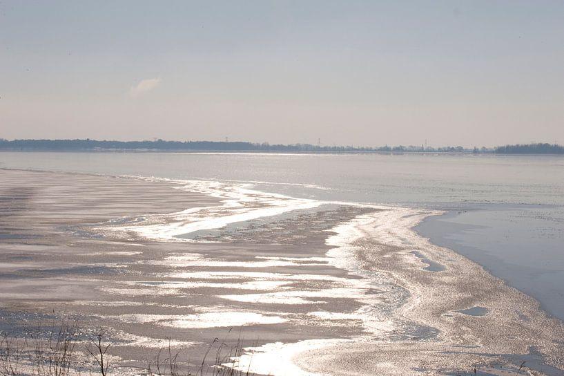 Ice Reflection van Brian Morgan