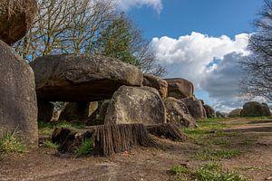 Hunebed D50-Architektur von vor 5000 Jahren von Gerry van Roosmalen