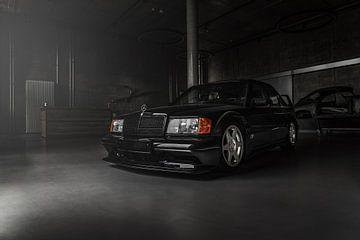Mercedes E190 Evolution II Front von Christian Mack