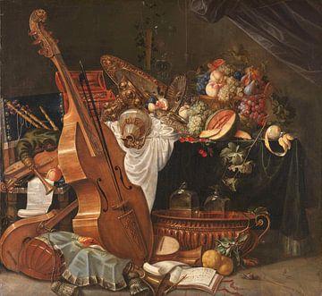 Stillleben, Johann Friedrich Grueber