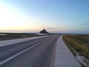 Dam naar Mont Saint-Michel