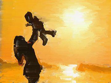 Mother And Child van Judith Robben