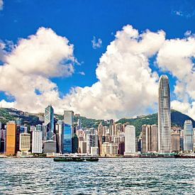 Skyline Hong Kong sur Eduard Lamping