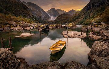 Norwegen - Bondhusvatnet von Patrick Rodink