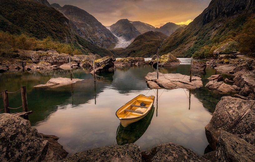 Noorwegen - Bondhusvatnet van Patrick Rodink