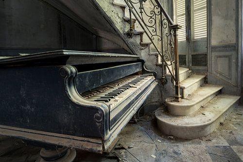 Piano naastTrap van