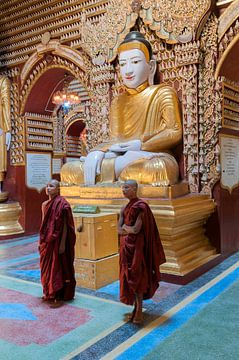 Monywa Township: Thanboddhay pagode sur Maarten Verhees