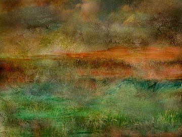 Landschapsfantasie van Claudia Gründler