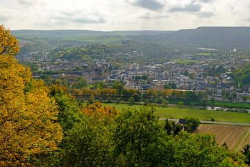 Panorama d'Echternach sur