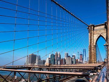 New York City Brooklyn Bridge van suuspixs