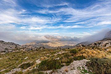 Bergen in het westen van Mallorca van Dennis Eckert