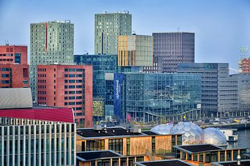 Rotterdam Architektur in Feijenoord. von Iris Heuer