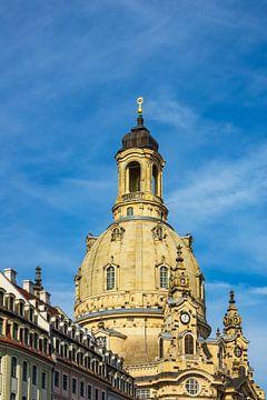 Blick auf die Frauenkirche in Dresden sur Rico Ködder