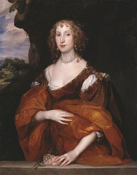 Porträt von Mary Hill, Lady Killigrew, Anthony van Dyck