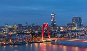De Hef et le Willemsbrug à Rotterdam avec un nouvel éclairage sur MS Fotografie | Marc van der Stelt