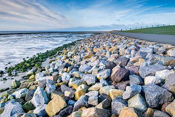 Waddenzeedijk bij Hollum van Evert Jan Luchies