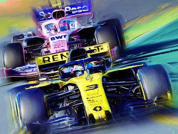 Daniel Ricciardo #3 van Jean-Louis Glineur alias DeVerviers
