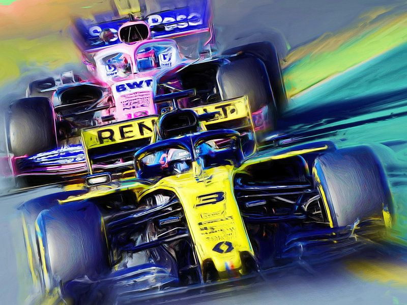 Daniel Ricciardo #3 von Jean-Louis Glineur alias DeVerviers