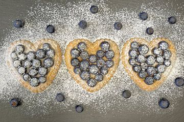 hartvormige taart van Ulrike Leone