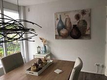 Klantfoto: Vessel Still Life I, Albena Hristova van Wild Apple, als print op doek