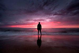 strand Oostende  van