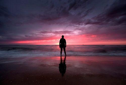 strand Oostende  von Niels  de Vries