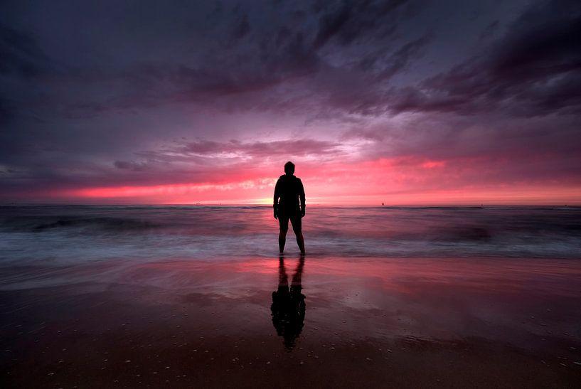 strand Oostende  van Niels  de Vries