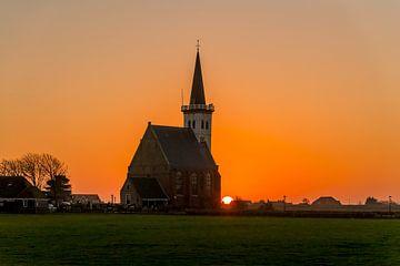 Sonnenuntergang in Den Hoorn von Texel360Fotografie Richard Heerschap