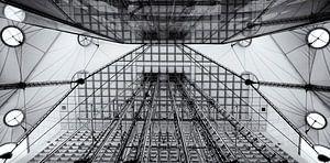 Lijnen in La Défense van