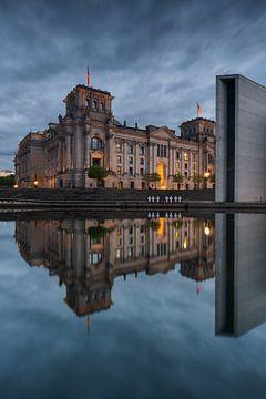 Reichstag Reflectie van Stefan Schäfer