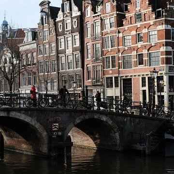 Amsterdam van HANS VAN DAM