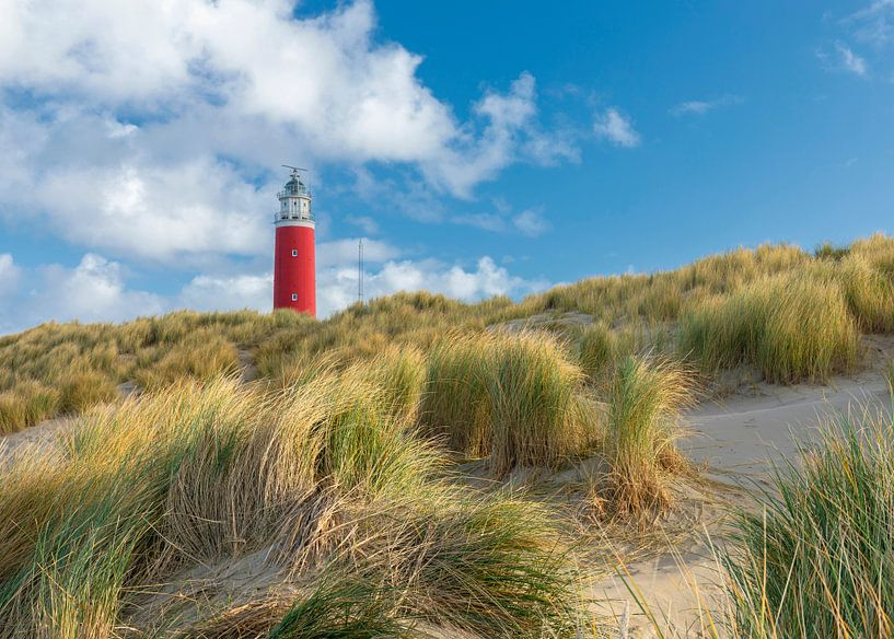 Phare, Texel sur Edwin Kooren