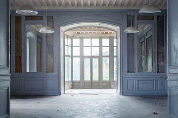 chambre bleue abandonnée sur Kristof Ven