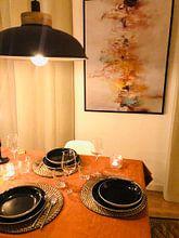 Klantfoto: Winter Colors van Maria Kitano, op canvas