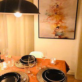 Kundenfoto: Winter Colors von Maria Kitano, auf leinwand