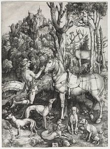 Der heilige Eustachius, Albrecht Dürer