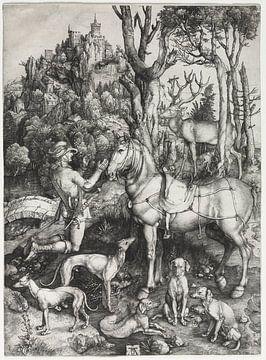 Sint Eustachius, Albrecht Dürer van De Canon