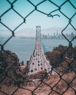 Bay Bridge, San Francisco van Nick Snijder