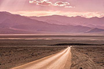 Death Valley road van