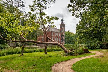 Park von Bouvigne Castle in der Nähe von Breda von Ruud Morijn