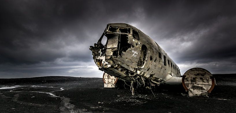 vliegtuig wrak van Erik Keuker