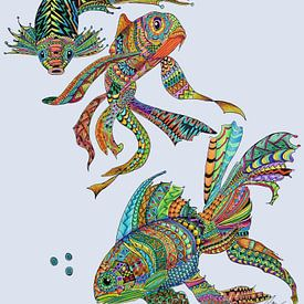 Vissen van Dinie de zeeuw